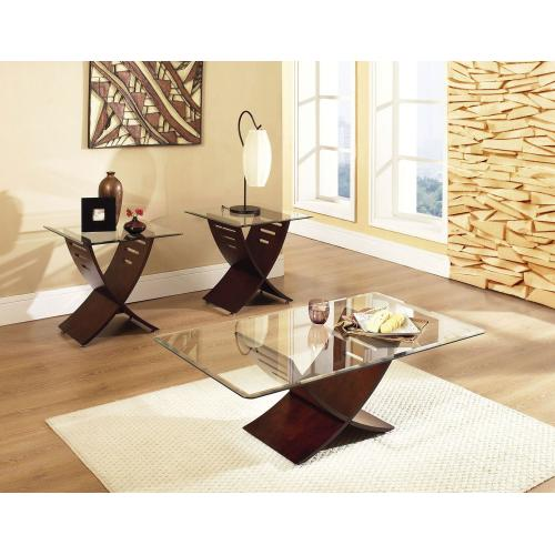 Cafe 3 Pack Set (Pack Includes Cocktail & 2 End Tables)