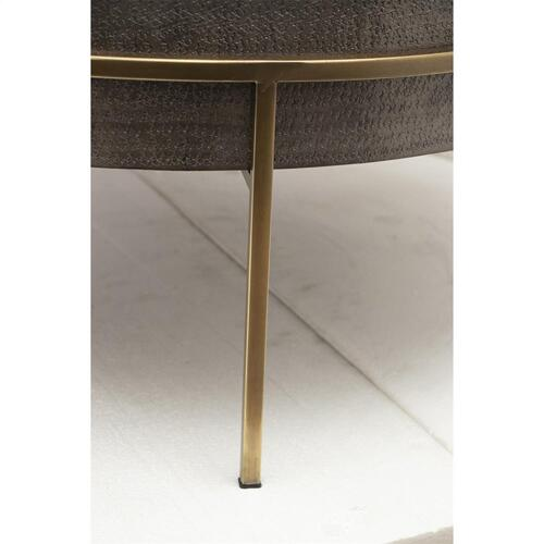 Riverside - Round Coffee Table - Onyx Finish