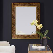 Brice Rectangle Mirror-Toffee Penshell