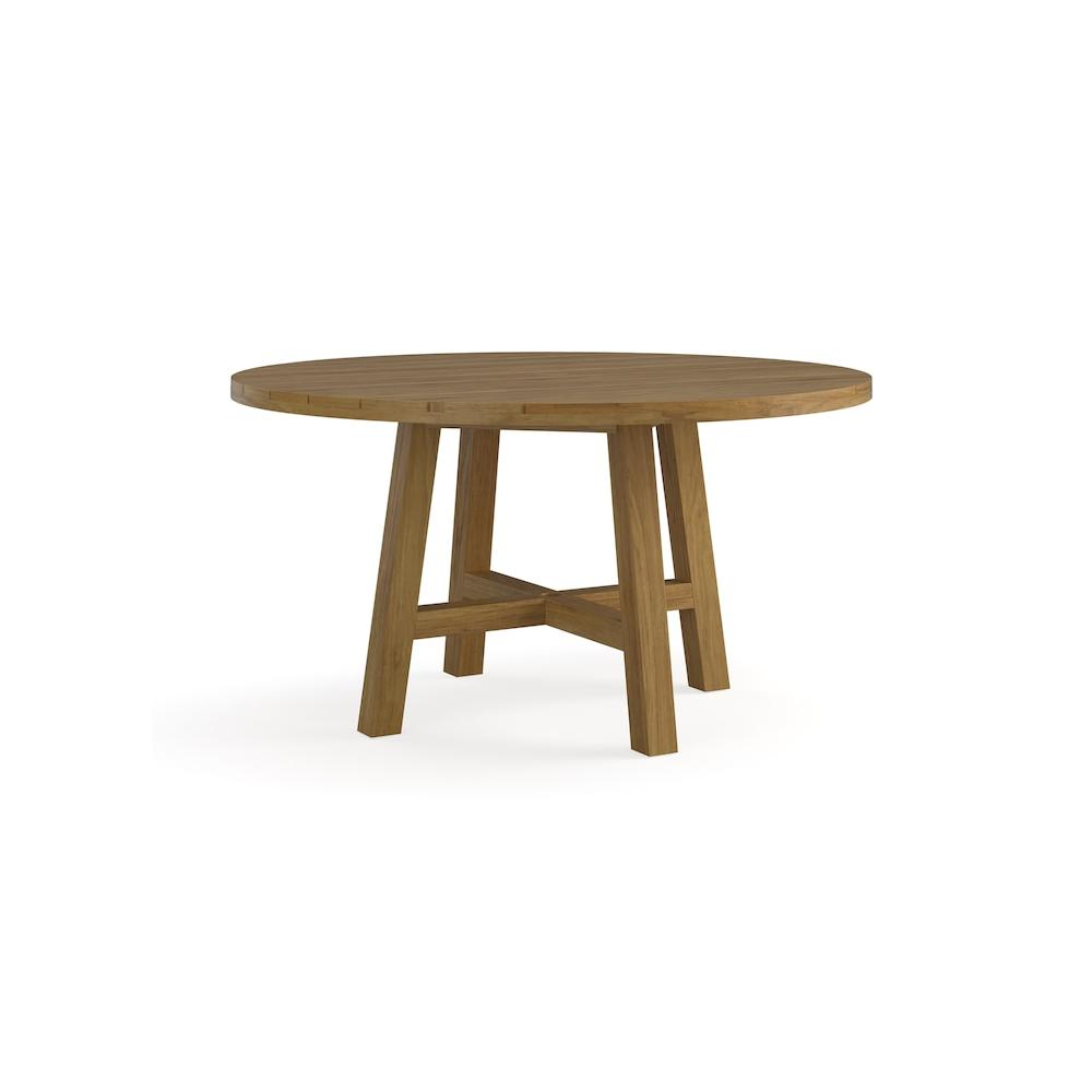 Martin Teak Tables Round Dining Table