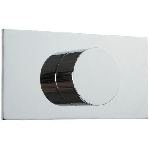3-Way Diverter Trim Kit, RND + Letterbox Chrome
