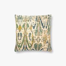 P0878 Green / Multi Pillow