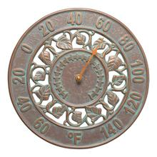 See Details - Ivy Silhouette Thermometer - Copper Vedigris