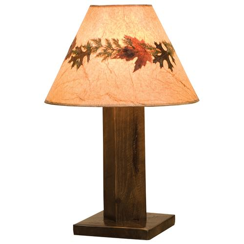 Fireside Lodge - Table Lamp - Pebble - With shade