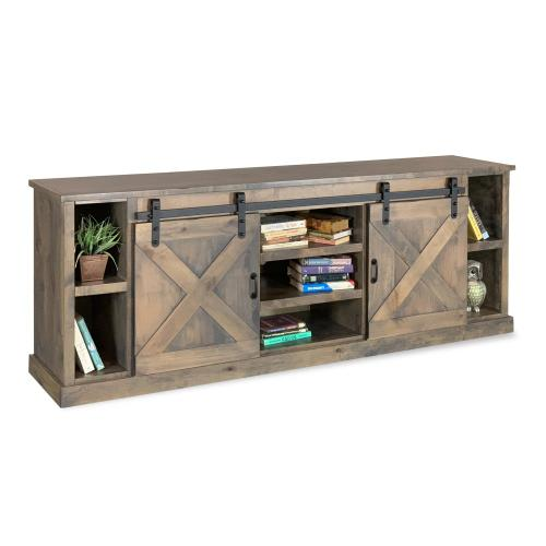 "Farmhouse 85"" TV Console BNW"