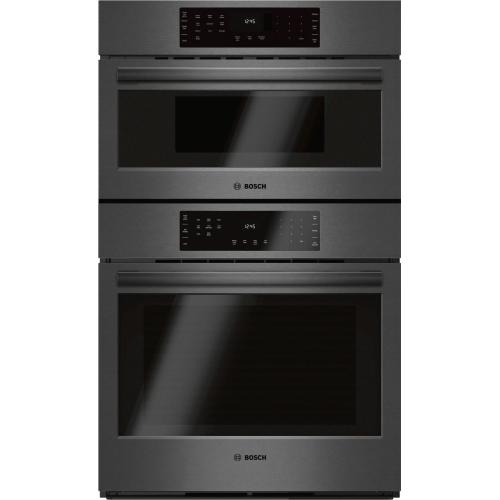 800 Series Bosch 800 Series Oven,Blk SS+240V Spd MW 30'' Black Stainless Steel HBL8742UC