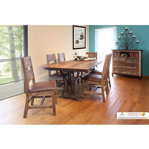 Dining Table w/ Iron Base