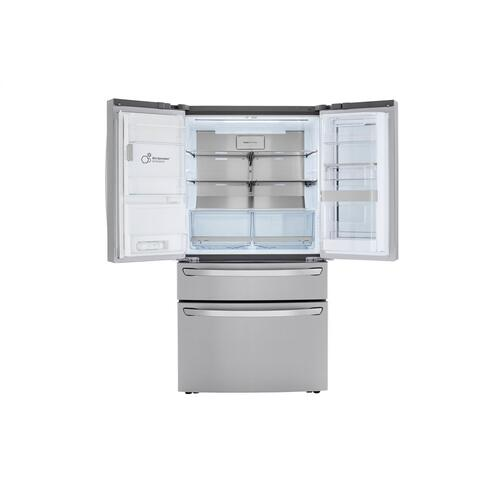 30 cu. ft. Smart wi-fi Enabled InstaView™ Door-in-Door® Refrigerator with Craft Ice™ Maker