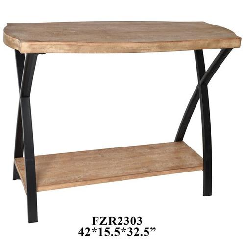 """42x15.5x32.5"""" WOODEN TABLE, 1/ PACK 3.67'"""