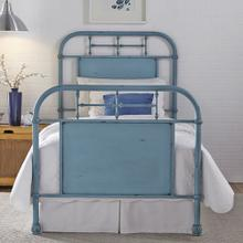 View Product - Full Metal Bed - Blue