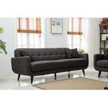 Modibella Contemporary Living Room Sofa, Taupe