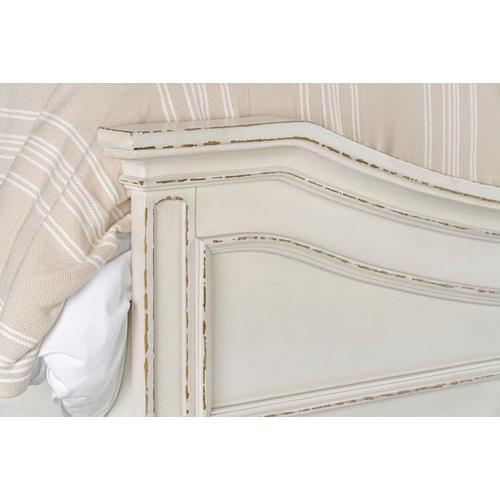 Stevenson Manor Queen Upholstered Bed, White