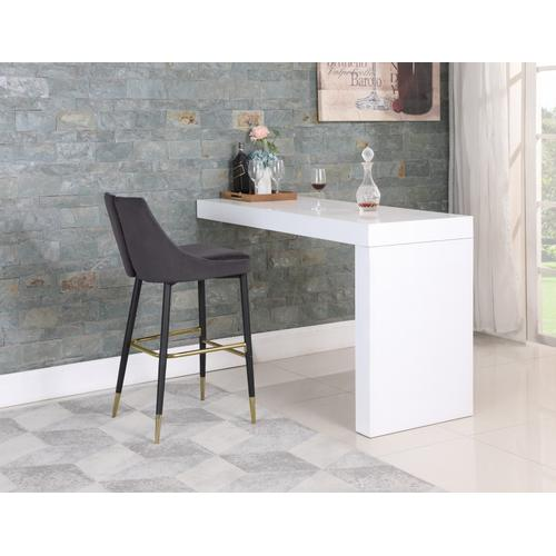 "Sleek Bar Stool - 19.5"" W x 22"" D x 41"" H"