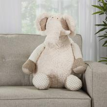 "Plushlines N1463 Ivory 1'10"" X 2'2"" Plush Animal"