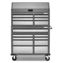 See Details - Premier 41 inch 15-drawer Mobile Tool Chest Combo