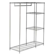 See Details - Betsy Chrome Wire Adjustable Garment Rack - Chrome