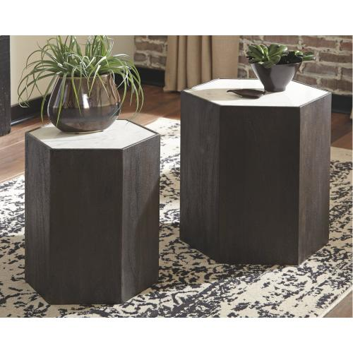 Nanfield Accent Table (set of 2)