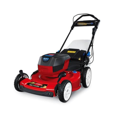 """22"""" (56cm) 60V MAX* Electric Battery SMARTSTOW Personal Pace High Wheel Mower Bare Tool (20363T)"""