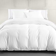 Hera Linen Duvet Cover, 4 Colors (super King/queen) - Super King / White