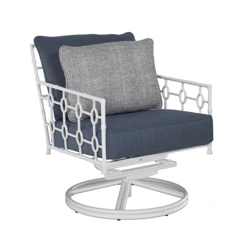Savannah Cushioned Lounge Swivel Rocker