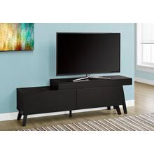 "TV STAND - 67""L TO 84""L / ESPRESSO / 2 DRAWERS"