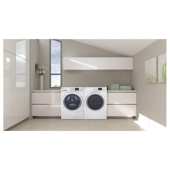 GE Appliances - GE® 4.5 cu. ft. Capacity Front Load ENERGY STAR® Washer with Steam