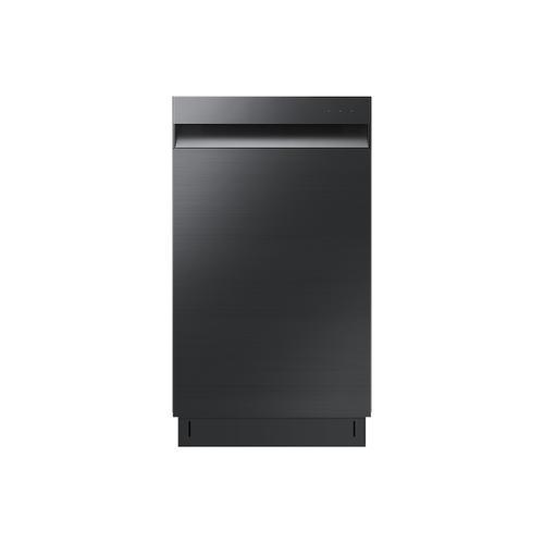 Samsung - Whisper Quiet 46 dBA Dishwasher in Black Stainless Steel