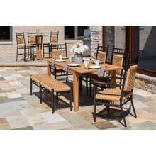 "See Details - Teak 63-84"" Butterfly Leaf Umbrella Dining Table"