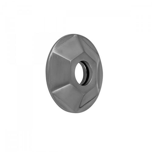 Pewter - Hex Escutcheon