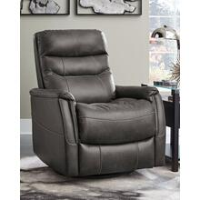 Riptyme Swivel Glider Recliner Quarry