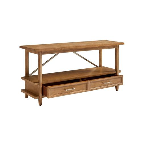 Chelsea Square French Toast Low Bookcase