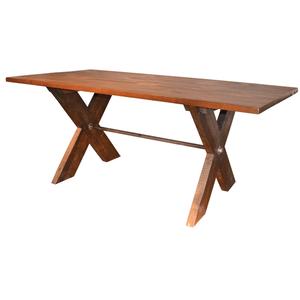 Dunham Sawbuck Table