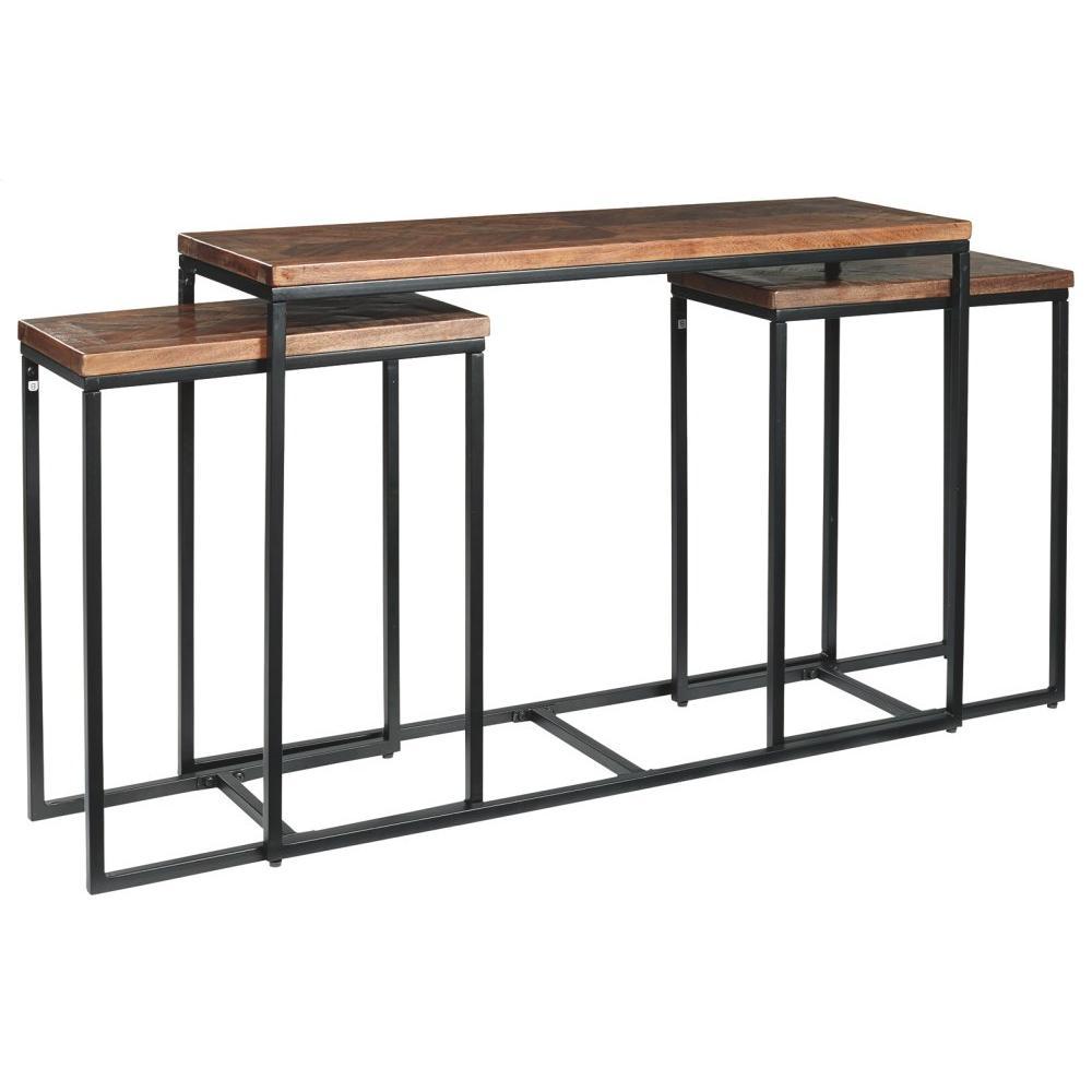 Jadenley Sofa/console Table (set of 3)