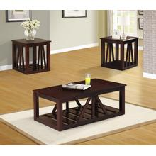 Etelka 3pc Coffee Table Set