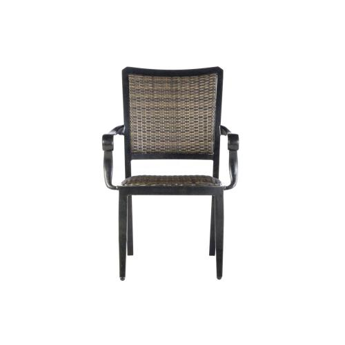 Product Image - Cantabria Wicker Dining Arm Chair w/quick dry foam