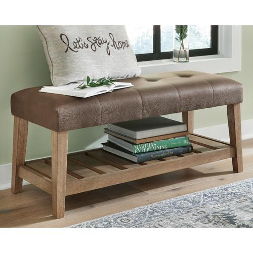 Signature Design By Ashley - Cabellero Upholstered Accent Bench