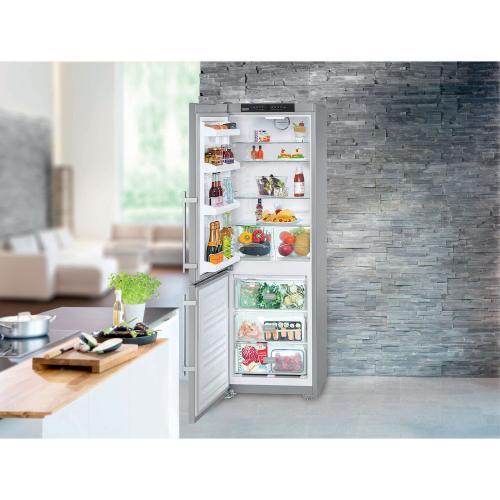 "24"" Freestanding Refrigerator/Freezer no ice maker Right hinge"