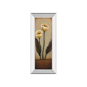 Jardin De Flores I By H.ALVES (mirrored Frame)
