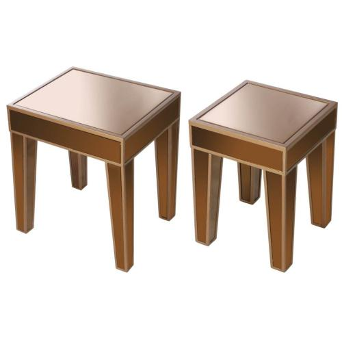 A & B Home - S/2 Side Table