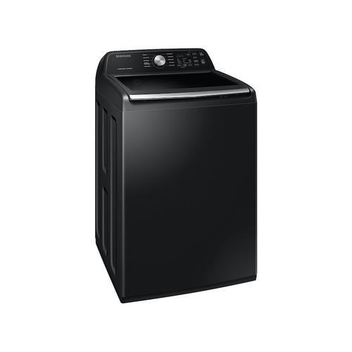 4.5 cu. ft. Capacity Top Load Washer with Active WaterJet in Black Stainless Steel