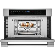 See Details - a Frigidaire Professional 30'' Built-In Convection Microwave Oven with Drop-Down Door