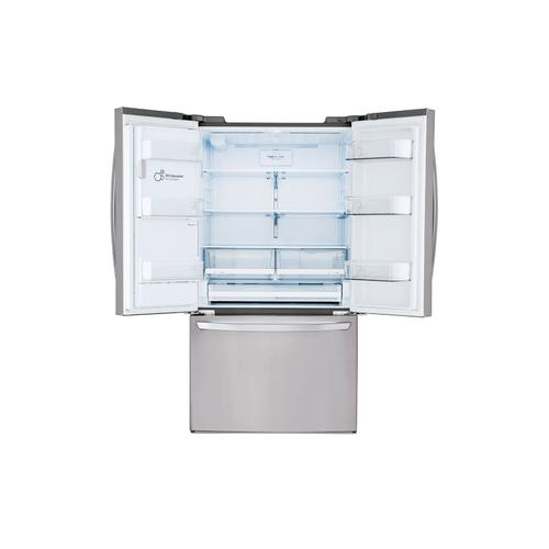 LG - 28 cu.ft. Smart wi-fi Enabled French Door Refrigerator