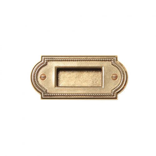 Rocky Mountain Hardware - Ellis Bin Pull - CK080 Silicon Bronze Rust