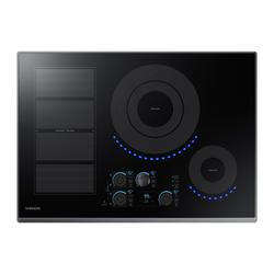 """30"""" Smart Induction Cooktop in Black Stainless Steel"""
