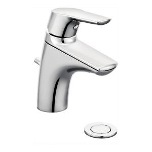 Method chrome one-handle bathroom faucet Product Image