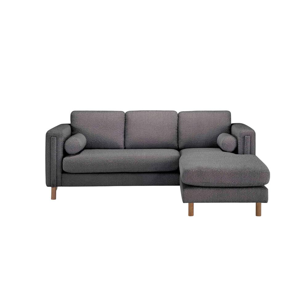 Upholstered-Bi-Sectional Sofa 84in. & Ottoman-Truffle Boucle by A.R.T. Furniture