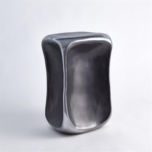 Formation Accent Table-Black/Platinum-Sm