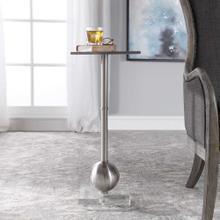 Laton Accent Table, Silver