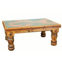 See Details - Copper Coffee Table