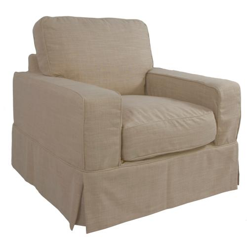 Americana Slipcovered Chair - Color: 466082